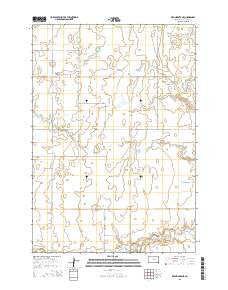 Ree Heights NE South Dakota Current topographic map, 1:24000 scale, 7.5 X 7.5 Minute, Year 2015
