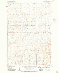 Rezac Lake NE South Dakota Historical topographic map, 1:24000 scale, 7.5 X 7.5 Minute, Year 1950