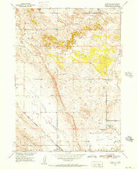 Rumford South Dakota Historical topographic map, 1:24000 scale, 7.5 X 7.5 Minute, Year 1950