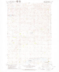 Salt Lake South Dakota Historical topographic map, 1:24000 scale, 7.5 X 7.5 Minute, Year 1978