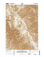 Sharps Corner South Dakota Current topographic map, 1:24000 scale, 7.5 X 7.5 Minute, Year 2015 from South Dakota Map Store