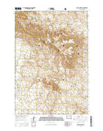 Sheep Mountain South Dakota Current topographic map, 1:24000 scale, 7.5 X 7.5 Minute, Year 2015 from South Dakota Map Store