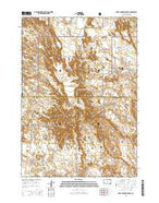 Sheep Mountain Table South Dakota Current topographic map, 1:24000 scale, 7.5 X 7.5 Minute, Year 2015 from South Dakota Map Store