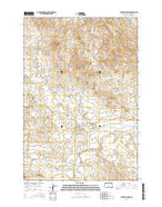 Sheep Pen Draw South Dakota Current topographic map, 1:24000 scale, 7.5 X 7.5 Minute, Year 2015 from South Dakota Map Store