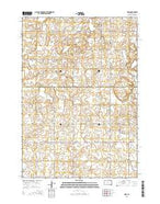 Sinai South Dakota Current topographic map, 1:24000 scale, 7.5 X 7.5 Minute, Year 2015 from South Dakota Map Store