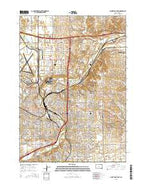 Sioux Falls East South Dakota Current topographic map, 1:24000 scale, 7.5 X 7.5 Minute, Year 2015 from South Dakota Map Store