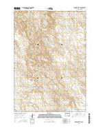 Standing Butte SW South Dakota Current topographic map, 1:24000 scale, 7.5 X 7.5 Minute, Year 2015 from South Dakota Map Store