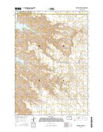 Steamboat Creek South Dakota Current topographic map, 1:24000 scale, 7.5 X 7.5 Minute, Year 2015 from South Dakota Map Store