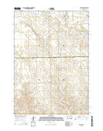 Stephan South Dakota Current topographic map, 1:24000 scale, 7.5 X 7.5 Minute, Year 2015 from South Dakota Map Store