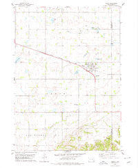 Tabor South Dakota Historical topographic map, 1:24000 scale, 7.5 X 7.5 Minute, Year 1978