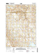 Tunerville South Dakota Current topographic map, 1:24000 scale, 7.5 X 7.5 Minute, Year 2015 from South Dakota Map Store