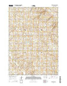 Turkey Ridge South Dakota Current topographic map, 1:24000 scale, 7.5 X 7.5 Minute, Year 2015