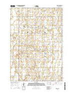 Turton South Dakota Current topographic map, 1:24000 scale, 7.5 X 7.5 Minute, Year 2015 from South Dakota Map Store