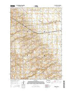 Twin Brooks South Dakota Current topographic map, 1:24000 scale, 7.5 X 7.5 Minute, Year 2015 from South Dakota Map Store