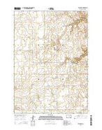 Vayland SE South Dakota Current topographic map, 1:24000 scale, 7.5 X 7.5 Minute, Year 2015 from South Dakota Map Store