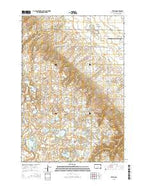 Veblen South Dakota Current topographic map, 1:24000 scale, 7.5 X 7.5 Minute, Year 2015 from South Dakota Map Store