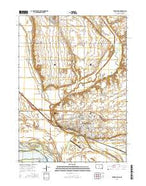 Vermillion South Dakota Current topographic map, 1:24000 scale, 7.5 X 7.5 Minute, Year 2015 from South Dakota Map Store