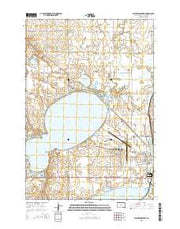 Watertown West South Dakota Current topographic map, 1:24000 scale, 7.5 X 7.5 Minute, Year 2015 from South Dakota Maps Store