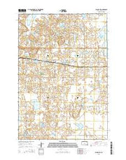 Waubay SW South Dakota Current topographic map, 1:24000 scale, 7.5 X 7.5 Minute, Year 2015 from South Dakota Maps Store
