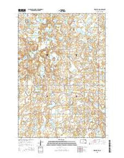 Webster NE South Dakota Current topographic map, 1:24000 scale, 7.5 X 7.5 Minute, Year 2015 from South Dakota Maps Store
