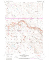 Weta South Dakota Historical topographic map, 1:24000 scale, 7.5 X 7.5 Minute, Year 1950