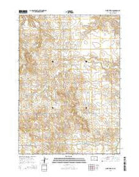 White River SE South Dakota Current topographic map, 1:24000 scale, 7.5 X 7.5 Minute, Year 2015