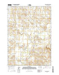 Willow Creek South Dakota Current topographic map, 1:24000 scale, 7.5 X 7.5 Minute, Year 2015