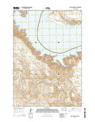 Willow Creek Butte South Dakota Current topographic map, 1:24000 scale, 7.5 X 7.5 Minute, Year 2015