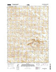 Willow Creek SW South Dakota Current topographic map, 1:24000 scale, 7.5 X 7.5 Minute, Year 2015