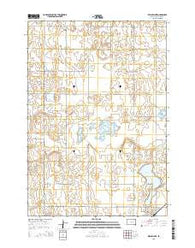 Willow Lake South Dakota Current topographic map, 1:24000 scale, 7.5 X 7.5 Minute, Year 2015