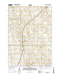 Willow Lake SW South Dakota Current topographic map, 1:24000 scale, 7.5 X 7.5 Minute, Year 2015