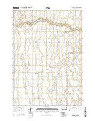 Wilmarth Lake South Dakota Current topographic map, 1:24000 scale, 7.5 X 7.5 Minute, Year 2015