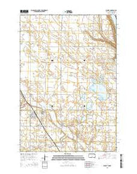 Wilmot South Dakota Current topographic map, 1:24000 scale, 7.5 X 7.5 Minute, Year 2015