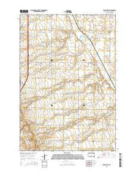 Wilmot NW South Dakota Current topographic map, 1:24000 scale, 7.5 X 7.5 Minute, Year 2015