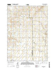 Wilson Dam South Dakota Current topographic map, 1:24000 scale, 7.5 X 7.5 Minute, Year 2015