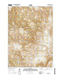 Wind Cave South Dakota Current topographic map, 1:24000 scale, 7.5 X 7.5 Minute, Year 2015