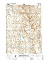 Winfred South Dakota Current topographic map, 1:24000 scale, 7.5 X 7.5 Minute, Year 2015