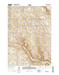 Winfred SE South Dakota Current topographic map, 1:24000 scale, 7.5 X 7.5 Minute, Year 2015