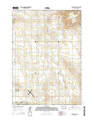 Winner North South Dakota Current topographic map, 1:24000 scale, 7.5 X 7.5 Minute, Year 2015