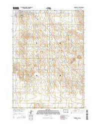 Winner South South Dakota Current topographic map, 1:24000 scale, 7.5 X 7.5 Minute, Year 2015