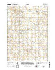 Witten South Dakota Current topographic map, 1:24000 scale, 7.5 X 7.5 Minute, Year 2015