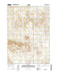 Witten SE South Dakota Current topographic map, 1:24000 scale, 7.5 X 7.5 Minute, Year 2015