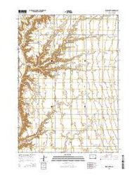 Wolf Creek South Dakota Current topographic map, 1:24000 scale, 7.5 X 7.5 Minute, Year 2015
