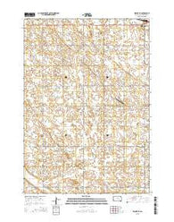 Wolsey SE South Dakota Current topographic map, 1:24000 scale, 7.5 X 7.5 Minute, Year 2015