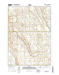 Woonsocket NW South Dakota Current topographic map, 1:24000 scale, 7.5 X 7.5 Minute, Year 2015