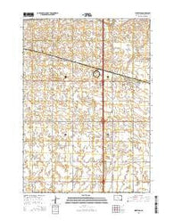 Worthing South Dakota Current topographic map, 1:24000 scale, 7.5 X 7.5 Minute, Year 2015