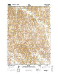 Wounded Knee South Dakota Current topographic map, 1:24000 scale, 7.5 X 7.5 Minute, Year 2015
