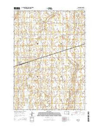 Yale South Dakota Current topographic map, 1:24000 scale, 7.5 X 7.5 Minute, Year 2015