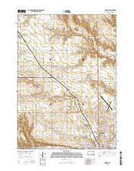Yankton South Dakota Current topographic map, 1:24000 scale, 7.5 X 7.5 Minute, Year 2015