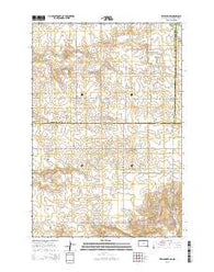 Zeeland NW South Dakota Current topographic map, 1:24000 scale, 7.5 X 7.5 Minute, Year 2015